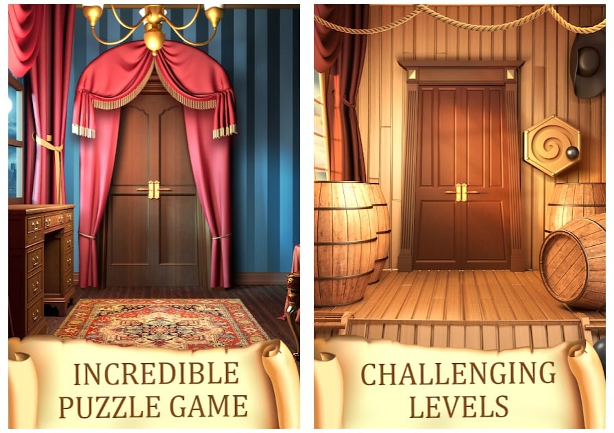 Puzzle 100 Doors